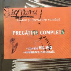 LIMBA SI LITERATURA ROMANA PREGATIRE COMPLETA CLASELE VII-VIII - E. Carstocea - Carte Teste Nationale