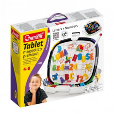 Joc Creativ Tablet Magnetico Premium Letters And Numbers Quercetti Litere Si Numere Magnetice - Jocuri arta si creatie