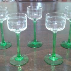 Pahare de cristal mici - Arta din Sticla