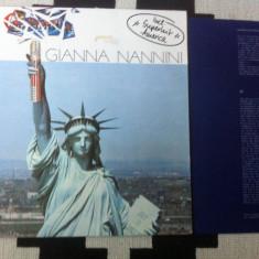 GIANNA NANNINI CALIFORNIA album 1979 disc vinyl lp muzica pop rock mapa texte, VINIL