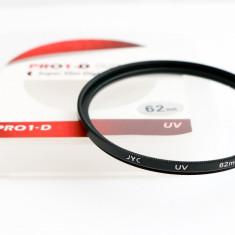 Filtru UV JYC PRO 1-D | SUPER SLIM | 62mm | STICLA OPTICA | - Filtru foto JYC, 60-70 mm