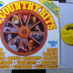 Country 20 Country Hits Various compilatie disc vinyl lp muzica editie vest 1977 - Muzica Country, VINIL