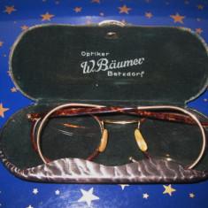 Ochelari vechi-Optiker W.Brauner Betzdorf Optal, perioada cca 1900.
