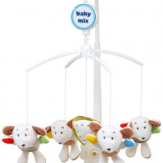 Carusel Muzical Friendly Mice - Carusel patut Baby Mix