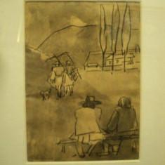 Traian Bradean, Pe langa plopii fara sot - Pictor roman