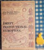 Drept Institutional european Irina Moroianu Zlatescu Radu C Demetrescu