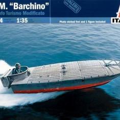 + Macheta 1/35 italeri 5604 - MTM Barchino Italian Attack Boat + - Macheta Navala