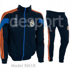 Trening ADIDAS REAL MADRID - Bluza si pantaloni conici - Modele noi Pret Special
