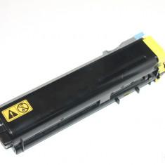 Cartus original Cyan TK-510Y toner la 60%) Kyocera Mita FS-C5020N / FS-C5025 / FS-C5030N