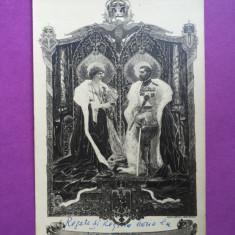 Romania - Familia Regala - Carte Postala Muntenia 1904-1918, Circulata, Fotografie
