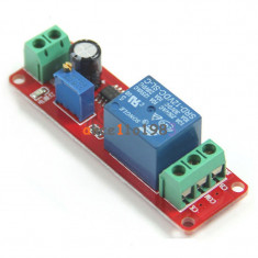 NE555 DC 12V Delay relay Timer Switch Adjustable 0 to 10 Second (FS00995)
