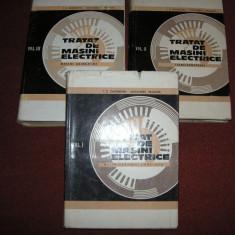 TRATAT DE MASINI ELECTRICE - ION. S. GHEORGHIU (3 vol.) - Carti Electrotehnica