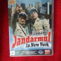 JANDARMUL LA NEY YORK - LOUIS DE FUNES - Film comedie, DVD, Romana