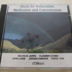 Music for relaxation - Muzica Ambientala Altele, CD