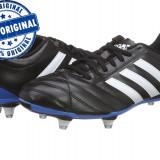 Ghete fotbal Adidas Goletto 5 - adidasi originali - ghete barbat, Marime: 41 1/3, Culoare: Negru, Barbati, Iarba: 1
