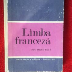 LIMBA FRANCEZA CURS PRACTIC ANUL 1, PENTRU FACULTATEA DE LIMBA, BRAESCU, CARPOV, - Curs Limba Franceza