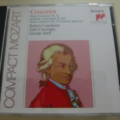 Mozart Piano No 21, Horn nr 3 etc. - Muzica Clasica sony music, CD