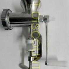 Masina de tocat carne nr 10 aluminiu manuala