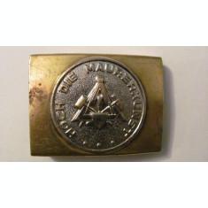 "PVM - Pafta catarama veche simboluri masonerie ""Marea Arta a Zidariei"" Germania"