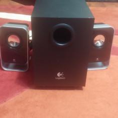 Sistem audio 2.1 Logitech LS21 2.1 Boxa activa - Boxe PC Logitech, 0-40W, In Subwoofer