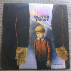 OLIVER TWIST CHARLES DICKENS dramatizare eftimie petrovici disc vinyl lp poveste - Muzica pentru copii electrecord, VINIL