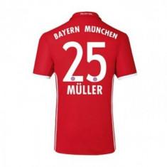 Tricou BAYERN 25 MULLER - Tricou echipa fotbal, Marime: L, M, XL, Culoare: Din imagine, De club, Bayern Munchen, Maneca scurta