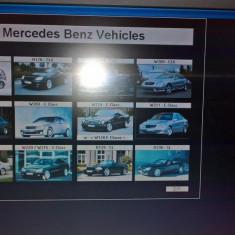 Tester Mercedes multiplexer Carsoft 7.4 plus laptop - Tester diagnoza auto