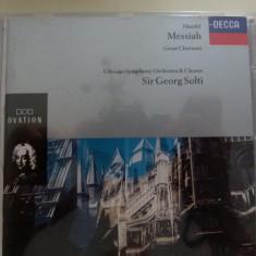 Messiah - Handel - Muzica Clasica decca classics, CD