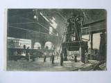 Cumpara ieftin CARTE POSTALA NECIRCULATA RESITA 1927,FORJARIA DE BANDAJE, Fotografie
