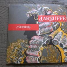 Moliere Tartuffe dublu disc vinyl 2 lp adaptare alexandru balaci poveste - Muzica soundtrack electrecord, VINIL