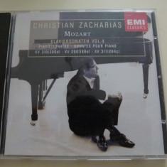 Mozart - KV 310, 311 etc. - Muzica Clasica emi records, CD