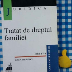 Tratat de dreptul familiei Ion P Filipescu Ed V - Carte Dreptul familiei