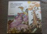 FIICA RINULUI CARANCHO DIN LEGENDELE POPOARELOR DISC VINYL LP POVESTI COPII, VINIL, electrecord