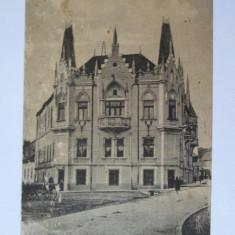 CARTE POSTALA CIRCULATA CARANSEBES,NOUA CASA DE PASTRARE 1924
