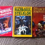 Razboiul Stelelor star wars George Lucas lot 3 carti roman sf hobby 1993 - Carte SF