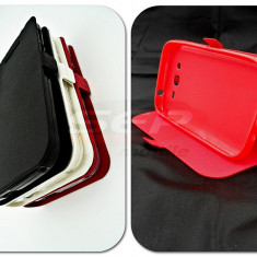 Toc FlipCover Stand Magnet Allview A6 DUO / C6 DUO ROSU