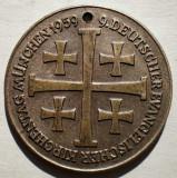 1.577 JETON GERMANIA DEUTSCHER EVANGELISCHER KIRCHENTAG MUNCHEN 1959 28mm