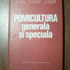Pomicultura generala si speciala - N. Ghena, M. Popescu I. Godeanu (1977) - Carti Agronomie