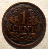 1.425 OLANDA 1 CENT 1929, Europa, Bronz