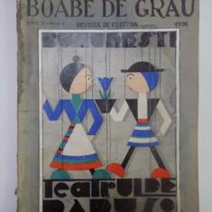BOABE DE GRAU. REVISTA DE CULTURA, ANUL II, NR. 4, 1931