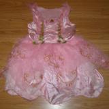 Costum carnaval serbare rochie barbie pentru copii de 2-3 ani - Costum Halloween, Marime: Masura unica, Culoare: Din imagine