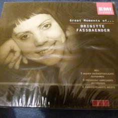 Brigitte Fassbaender - the Great Moments of - Muzica Opera emi records, CD