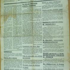 Bacaul ziar legionar 20 septembrie 1940 Garda de Fier Antonescu