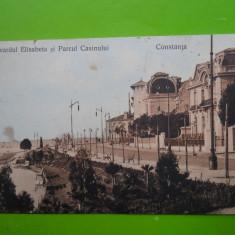 HOPCT 1 G CONSTANTA BULEVARDUL ELISABETA IN 1912 -JUD CONSTANTA[CIRCULATA ] - Carte Postala Dobrogea 1904-1918, Printata