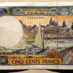 49. PACIFIC ADMINISTRATIE FRANCEZA 500 FRANCS FRANCI ND 1992 SR. 461