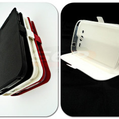 Toc FlipCover Stand Magnet Allview A6 DUO / C6 DUO ALB - Husa Telefon