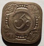 1.408 OLANDA 5 CENTS 1929, Europa, Cupru-Nichel