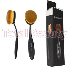 Pensula Machiaj Fond de Ten & Blending Nr. 3 - Foundation Curve Small Brush