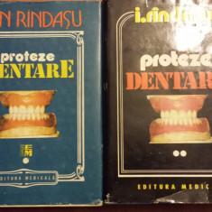 Proteze Dentare - I.Rindasu -Vol. 1 si Vol.2