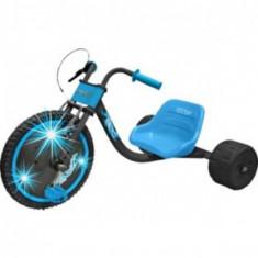 Tricicleta cu roti luminate Elektra - Tricicleta copii, Bleu